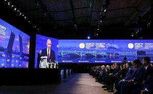 Путин поздравил Татарстан сулучшением позиций врейтинге инвестклимата