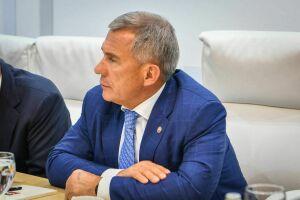 Минниханов планирует ряд встреч на ПМЭФ-2019 и участие в панельной сессии с Путиным