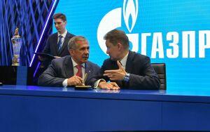 Минниханов и глава «Газпрома» подписали соглашение о строительстве в Татарстане завода СПГ