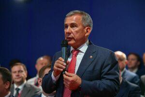 Минниханов о рейтинге инвестклимата регионов РФ: Находиться рядом с Москвой — это уже достойно