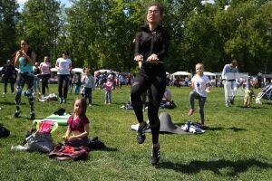 «Зеленый фитнес» приглашает самых маленьких и самых пожилых казанцев на «Фестиваль в стиле Zumba»
