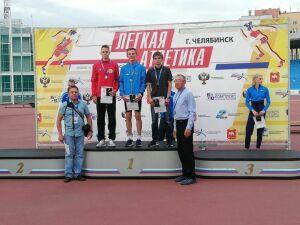 Заинский легкоатлет завоевал «серебро» первенства России