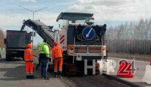 В Нижнекамске ремонт на Соболековской трассе привел к дорожному коллапсу
