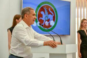 Рустам Минниханов на «Дне поля в Татарстане»: Здесь реализовано много интересных направлений