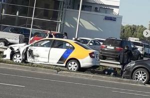 В Казани произошло два ДТП с участием каршеринговых авто «Яндекс.Драйв»