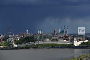 Синоптики Татарстана вновь предупреждают о дождях, грозах и порывистом ветре