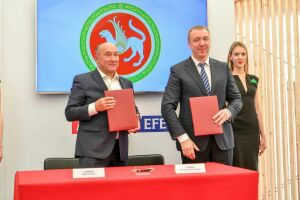 Правительство РТ и пивоваренная компания подписали соглашение о запуске агропромышленной программы