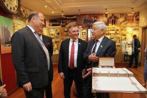 Мухаметшин обсудил вопросы расширения сотрудничества с главой парламента Словакии