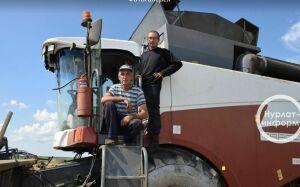 Нурлатские аграрии первыми в Татарстане приступили к уборке урожая
