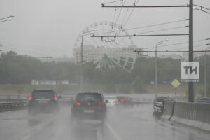 Дожди и грозы вновь придут в Татарстан