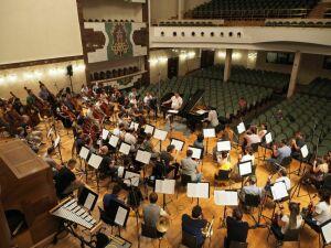 Государственный симфонический оркестрРТ завершил двухнедельный марафон записи Чайковского