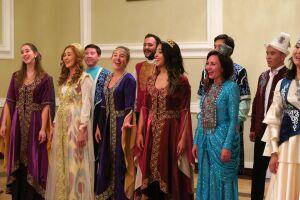 Молодежный хор ТЮРКСОЙ с участием солистов из РТ исполнил татарскую песню во время турне по Европе