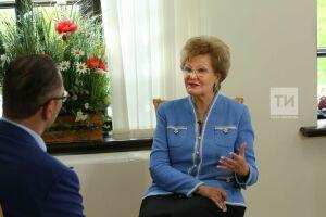 Ларионова: «Языковая тема станет ключевой длянового созыва Госсовета РТ»