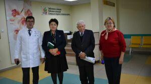 В Апастовском районе открылось гериатрическое отделение на пять коек