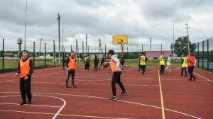 В Алькеевском районе РТ открыли новую мультимодальную спортивную площадку
