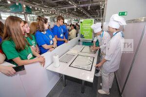 Дегустация осетинских пирогов и выбор профессии: школьники побывали на экскурсии на WorldSkills 2019