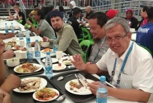 Зону халяльного питания на WorldSkills каждый день посещают около 2 тыс. участников