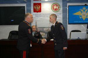 Сотрудников транспортной полиции Казани наградили за обеспечение порядка во время WorldSkills