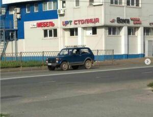 Из Кировского района Казани «Нива» пьяного водителя на эвакуаторе уехала на штрафстоянку