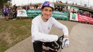 Татарстанец Ирек Ризаев одержал победу на Международных соревнованиях по велоспорту BMX