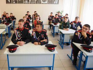 В кадетском корпусе Нижнекамска появится свой автокласс и секция ватерполо