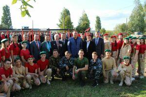 В Менделеевске открыли площадку с полосой препятствий