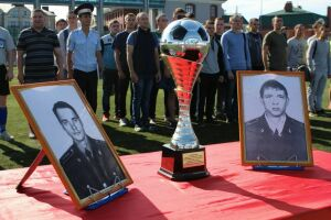 В Казани стартовало первенство по футболу, посвященное памяти погибших сотрудников ППС