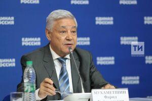 Мухаметшин доложил Медведеву о массовом вступлении татарстанцев в «Единую Россию» накануне выборов
