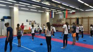 ВКазани стартовал отбор вшколу синхронного плавания главного тренера сборной России Покровской