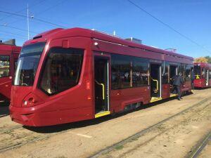 Завтра новый трамвай City Star совершит первый рейс в Казани по маршруту №5