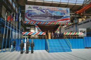 Маневр и огневая мощь: на Зеленодольском заводе заложили малый ракетный корабль «Тайфун»