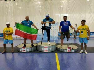 Житель Менделеевска завоевал «серебро» на всероссийском спортивном фестивале людей с ПОДА