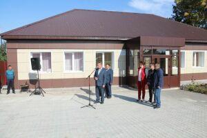 В селе Базарные Матаки открылось обновленное здание муниципального архива