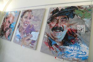 Портрет барбера брызгами: в Казани открылась выставка «Люди труда», посвященная WorldSkills