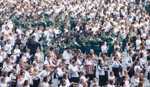 Казанский военный оркестр Росгвардии попал в Книгу рекордов Гиннесса