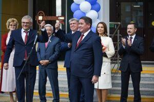 Замминистра просвещения РФ открыла мегашколу в Набережных Челнах