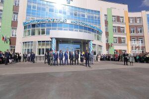Самую большую школу Татарстана открыл в Казани Алексей Песошин