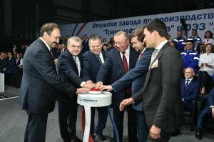 Алексей Песошин принял участие в открытии нового завода «Транснефть-Синтез» в ОЭЗ «Алабуга»