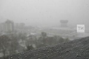 Синоптики предупредили о дожде и мокром снеге в Татарстане
