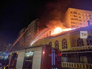 Следком начал проверку после гибели ребенка на пожаре в ресторане в Челнах