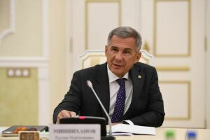 Минниханов: Логистические проекты являются ключевыми в сотрудничестве с Казахстаном