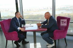 Владимир Познер дал эксклюзивное интервью гендиректору АО«Татмедиа» Андрею Кузьмину