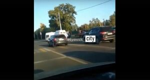 Легковушка подрезала «скорую помощь» в Альметьевске, два фельдшера и водитель госпитализированы