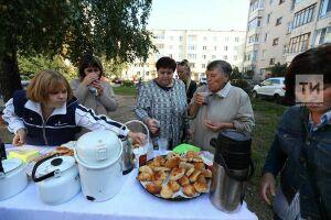 Частушки и танцы: в честь дня выборов жители Кировского района Казани провели праздник двора