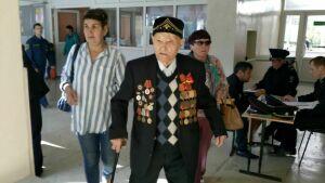 В Елабуге проголосовал 101-летний ветеран Великой Отечественной войны
