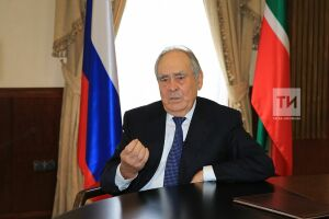 Минтимер Шаймиев отдал свой голос на выборах депутатов Госсовета РТ шестого созыва