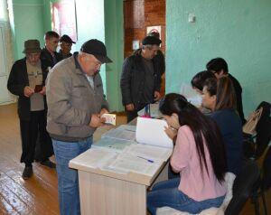 Бавлинские механизаторы коллективно проголосовали на выборах депутатов Госсовета РТ