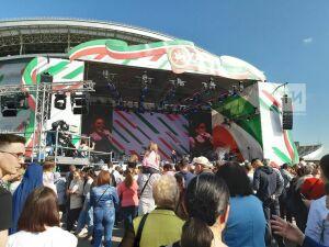 У«Казань Арены» начался бесплатный концерт для всех, кто проголосовал на выборах в Госсовет РТ