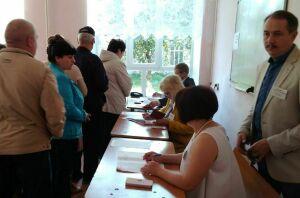Тетюшский стрелок Ландыш Кварталова проголосовала на выборах депутатов в Госсовет РТ