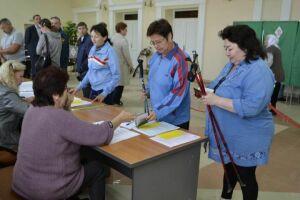 Пестречинские избиратели пришли на выборы Госсовета РТ «скандинавской походкой»